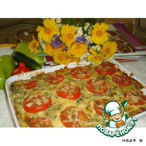 Рецепт: Запеканка из зелени