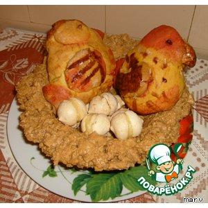 Рецепт: Птичье гнездо