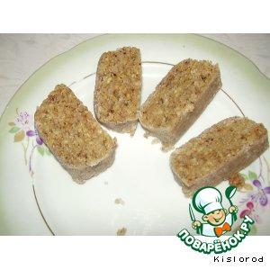 Марципан из грецких орехов