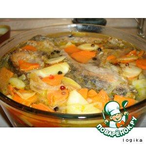Рецепт Рыба в белом маринаде