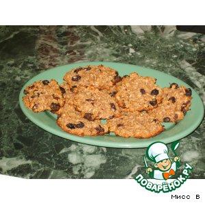 Рецепт: Овсяные печенюшки Для тонкой талии