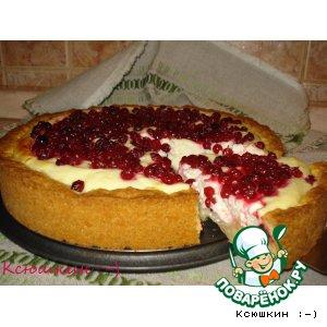 Рецепт: Пирог с красной смородиной