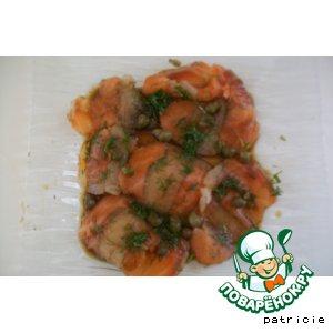 Рецепт: Карпаччо из лосося