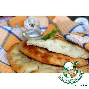 Рецепт: Картофельные лепешки с базиликом