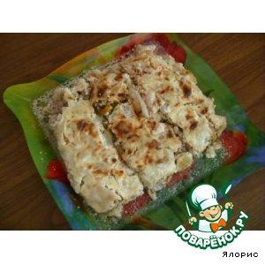 Рецепт: Овощная капустная лазанья