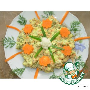 "Рецепт: ""Хрустящий салат"""