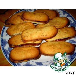 Рецепт: Печенье Джентльменские пальчики