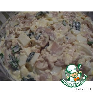 Рецепт: Салат с курицей
