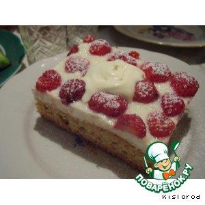 Рецепт: Пирожные с клубникой