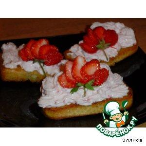 Десерт Красная шапочка