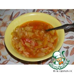 Рецепт: Зимний салат Тещин язык