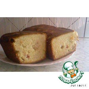 Рецепт: Фруктовый кекс по-английски