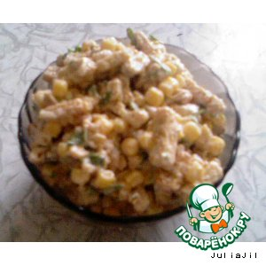 Рецепт: Салат Емеля