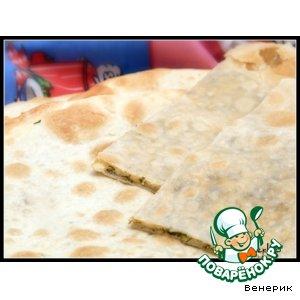 Рецепт: Лепешки с сыром и укропом