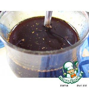 Рецепт: Салатный соус с бальзамическим уксусом
