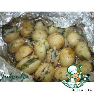 Рецепт: Картофель Пикник
