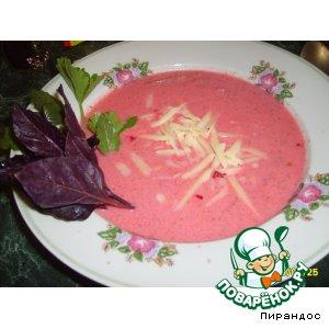 Рецепт: Холодный суп Без названия