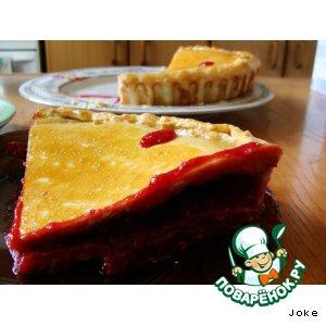 Рецепт: Малиновый пирог