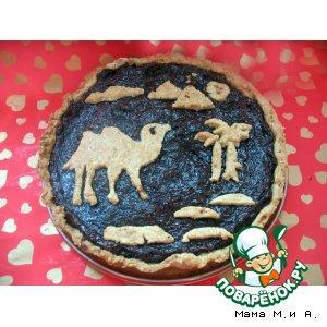Рецепт: Волшебный пирог «Восточные сказки»