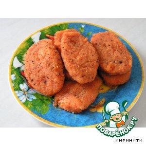 Рецепт: Морковные котлеты
