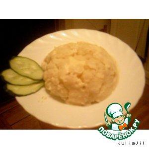 """Рецепт: Цветная капуста """"Сюрприз"""""""