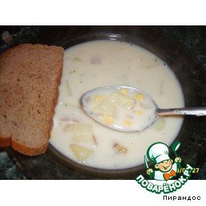 """Рецепт: Сырный суп """"Чаудер"""""""