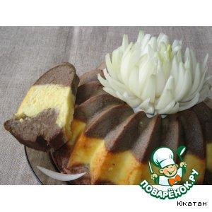 Рецепт: Сырно-печeночный пирог