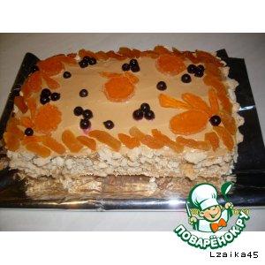 """Рецепт: Торт  """"Желание"""""""