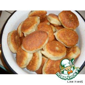 Рецепт: Пирожки с ливером