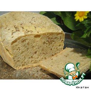 Рецепт: Домашний хлеб с зирой
