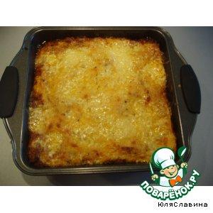 Рецепт: Лазанья с мясным фаршем Умопомрачение