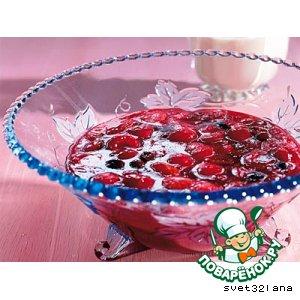 Рецепт: Десерт из ягод