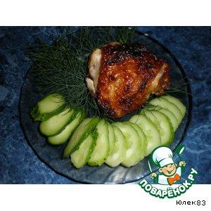 Рецепт: Курица-гриль по-восточному