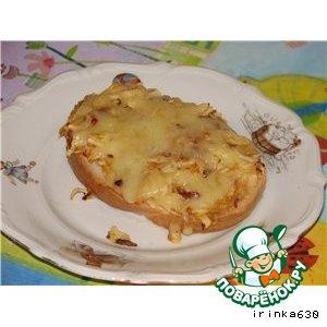 Рецепт: Бутерброды с яблоками