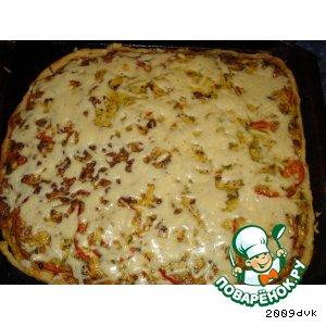 Рецепт: Пицца Княжеская