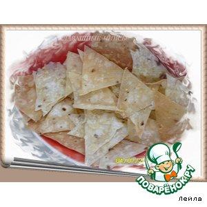 Рецепт: Лавашные  чипсы
