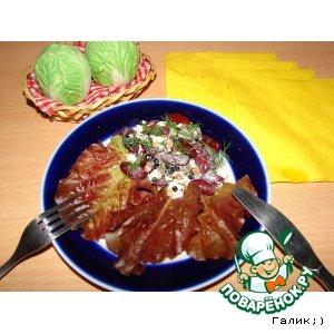 "Салат ""Фантазия"" – кулинарный рецепт"