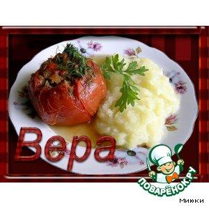 Рецепт: Фаршированные помидорки