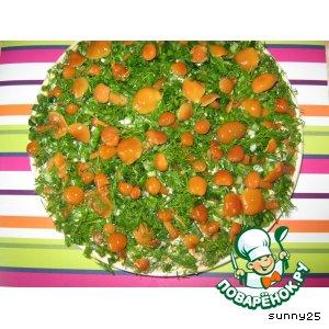 Рецепт: Салат Лесная поляна