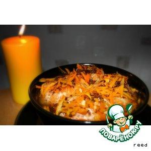 Рецепт: Мандарины в сладком соусе