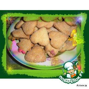 Рецепт: Печенье на сметане «Галинкино»