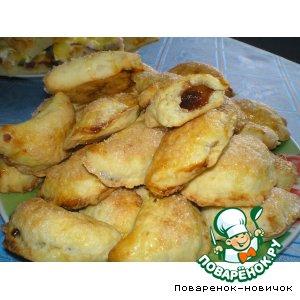 Рецепт: Сметанное печенье со смородиновым повидлом