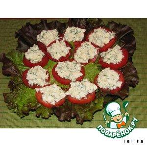 Рецепт: Вкусняшные помидоры