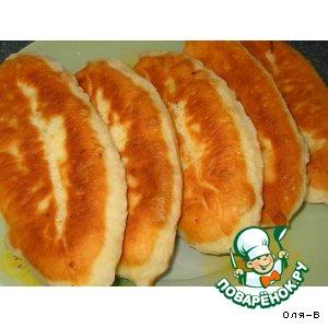 Рецепт: Пирожки с капустой и морковью