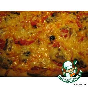 """Рецепт: Пицца """"Ассорти"""""""