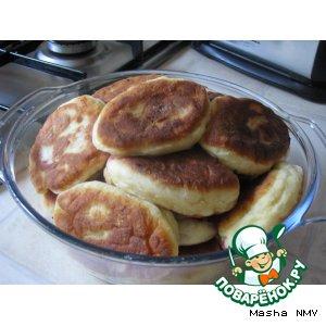 Рецепт: Пирожки с вишней