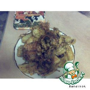 Рецепт: Окорочка с картофелем