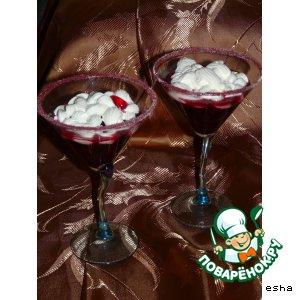 Рецепт: Вишня в красном вине