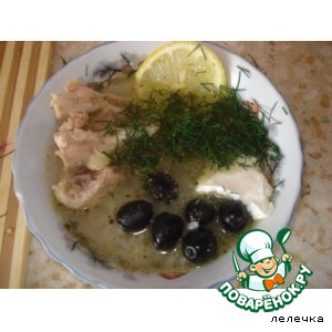 Рецепт: Греческий суп