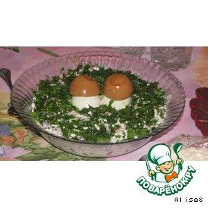 "Рецепт: Салат ""Фасолька"""